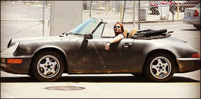 La 911 de « Californication »