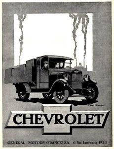 CHEVROLETles Camions Général Motors