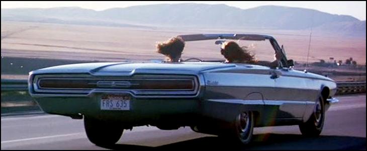 Road Movie au féminin pour une Tbird de 66