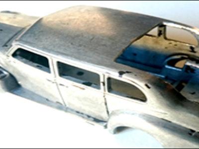 Atelier : La Cadillac traveling 3 (decapage)