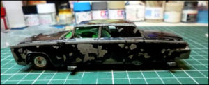 RESTAURATION : La Green Hornet Black Beauty (Corgi Toys 268)