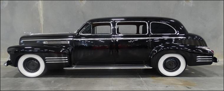 Atelier : La Cadillac traveling 2 (carrosserie)